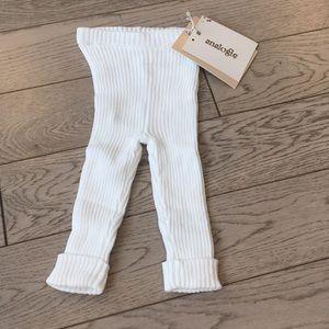 Ribbed Knit Leggings 0-3